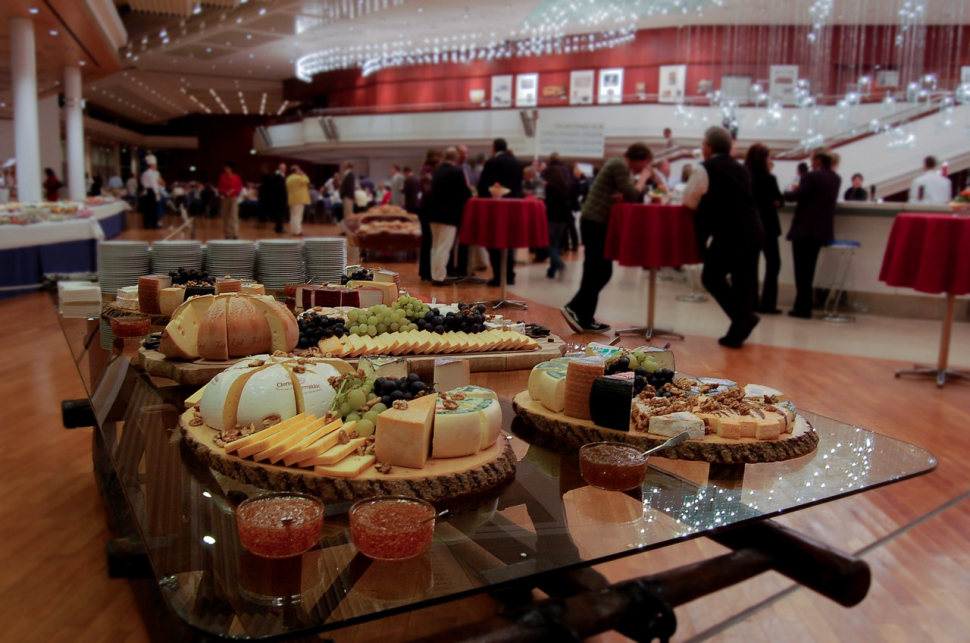Hosting a company buffet dinner is an effective way to celebrate achievements and milestones.